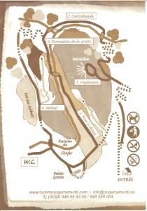 plan grotte