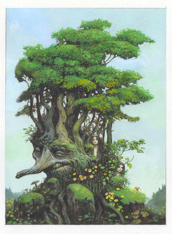 Chapitre 29 : Quelques réfléxions sur la Féerie [Tree Mothers]